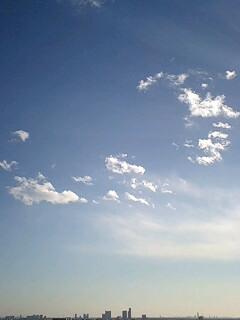 2007大晦日の空