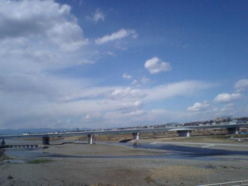 二子玉川/多摩川5月