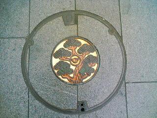 マンホールの蓋【鎌倉】